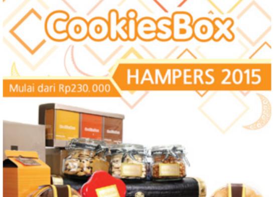 Parcel Lebaran Cookies Box Surabaya
