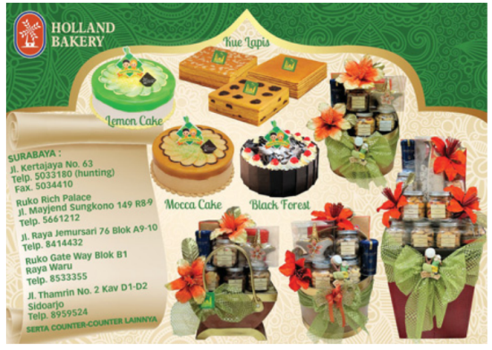 Parcel Lebaran Holland Bakery
