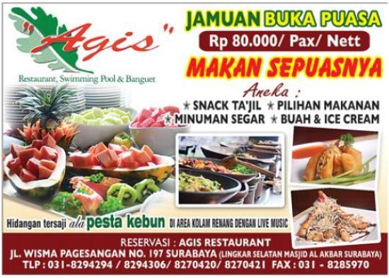 Paket Buka Puasa Restaurant Agis