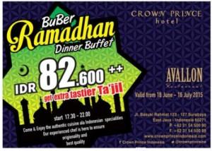 Paket Buka Puasa Hotel Crown Prince