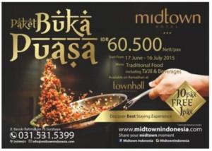 Paket Buka Puasa Hotel MidTown