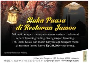 Paket Buka Puasa Hotel Shangri-la - Jamoo