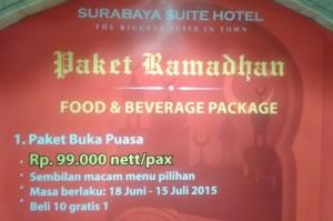 Buka Puasa Surabaya Plaza Hotel